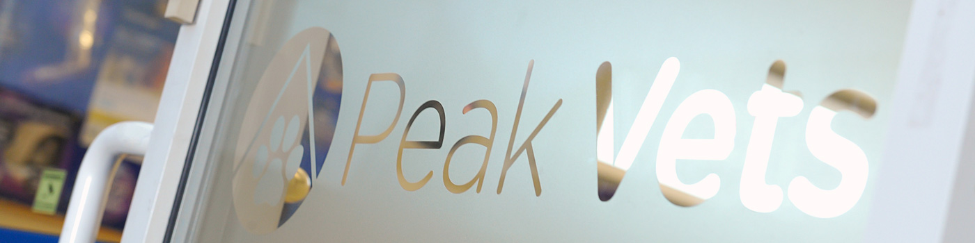 Peak Vets aims to provide a high-quality service, at reasonable prices.