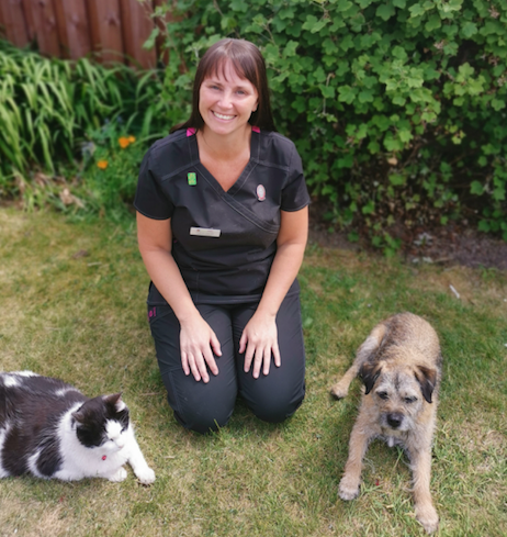 Sharon Davies – Registered Veterinary Nurse and Practice Manager