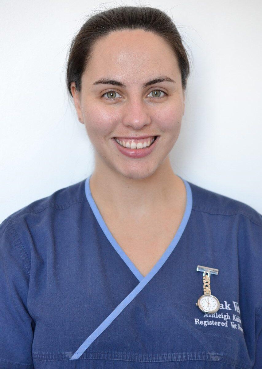 Ashleigh Kubie – BSc (Hons) VN CertVNECC PHC – Registered Veterinary Nurse